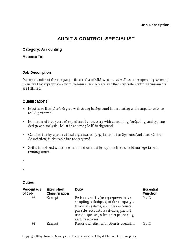 accounting clerk job description sample accountant resume accounts ...
