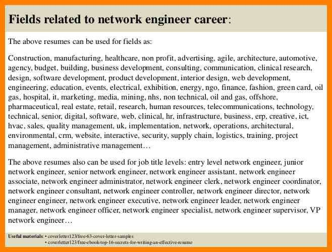 entry level network engineer professional entry level network