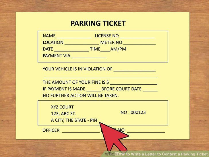 How to Write a Letter to Contest a Parking Ticket: 10 Steps