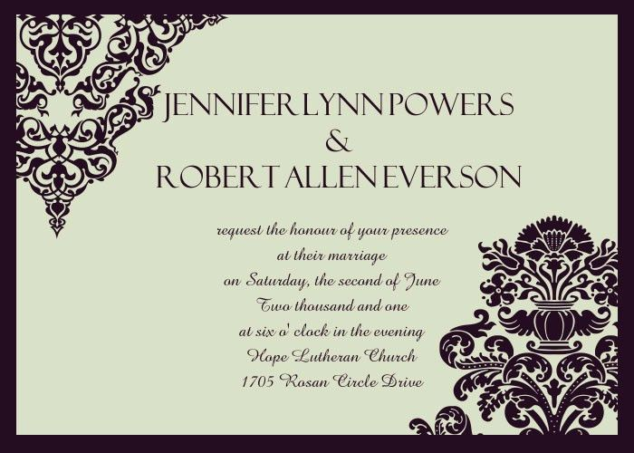 Cheap Simple Wedding Invitations Online |