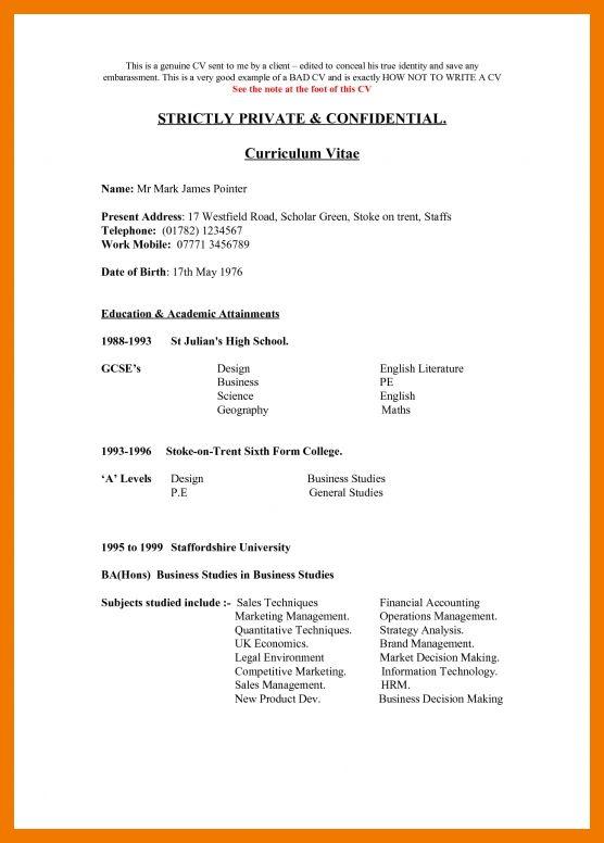 4+ bad resume examples pdf | mailroom clerk