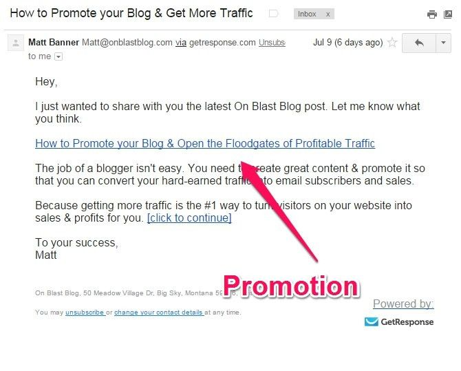 inverted pyramid method for email newsletter templates. promotion ...