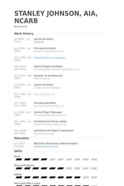 architectural resume examples architecture cv examples amp ...