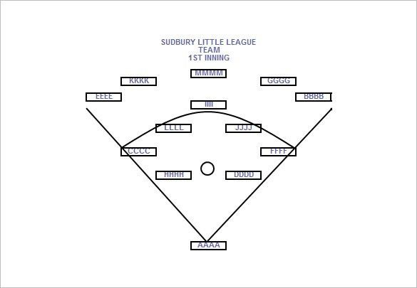 Baseball Line Up Card Template – 9+ Free Printable Word, PDF, PSD ...