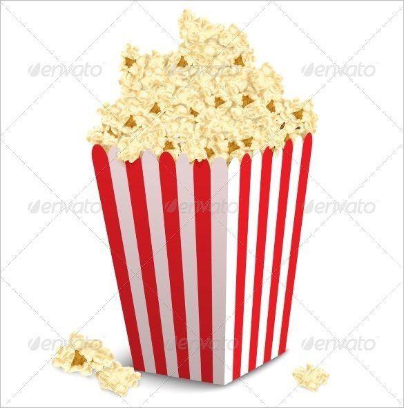 15+ Best Popcorn Box Templates | Free & Premium Templates