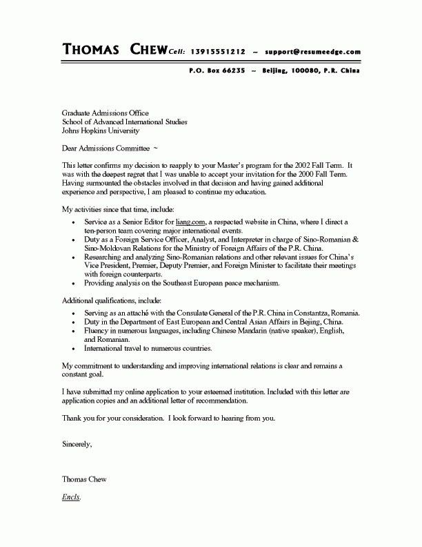 Real Cover Letter Examples | The Best Letter Sample