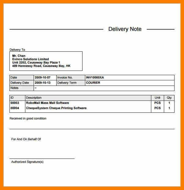 7+ delivery challan format doc | sephora resume