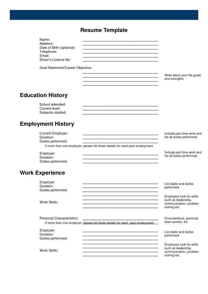Amazing Design Printable Resume Template 2 Sample Resume Templates ...