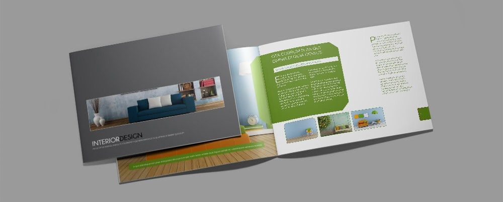 Free Download: Interior Design Brochure Template | Ric Dzgn Creative
