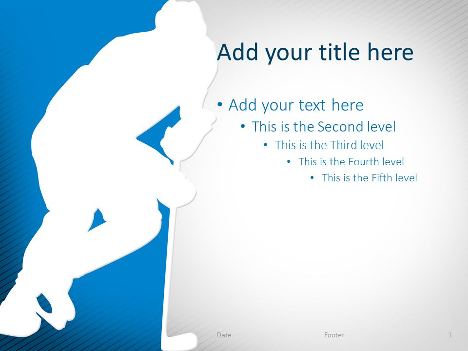 free hockey powerpoint template powerpoint templates microsoft ...