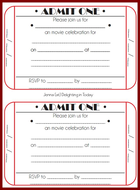 12+ movie ticket template word | sendletters.info