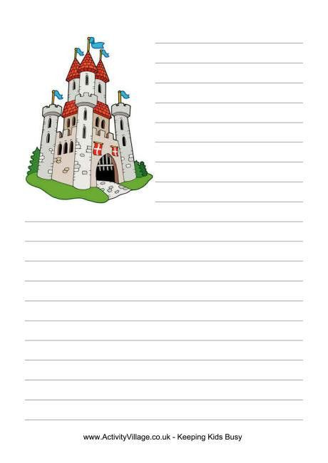 Castle Writing Paper