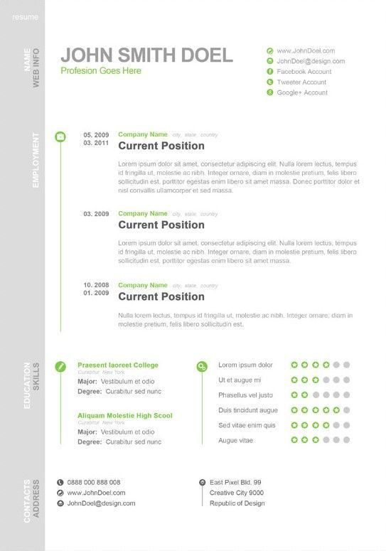 10 best CV's images on Pinterest | Design resume, Cv design and Cards