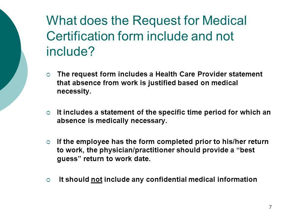 1 Certification of Medical Necessity (UPG 10.04) & Leave ...