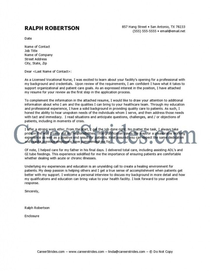 Nursing Resume Cover Letter For New Graduate. new grad nurse cover ...