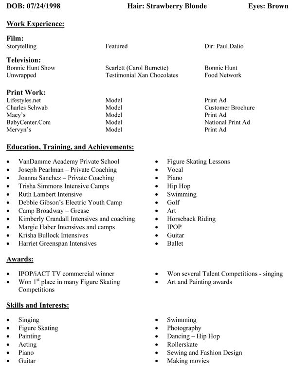 professional curriculum vitae resume template for all job seekers ...
