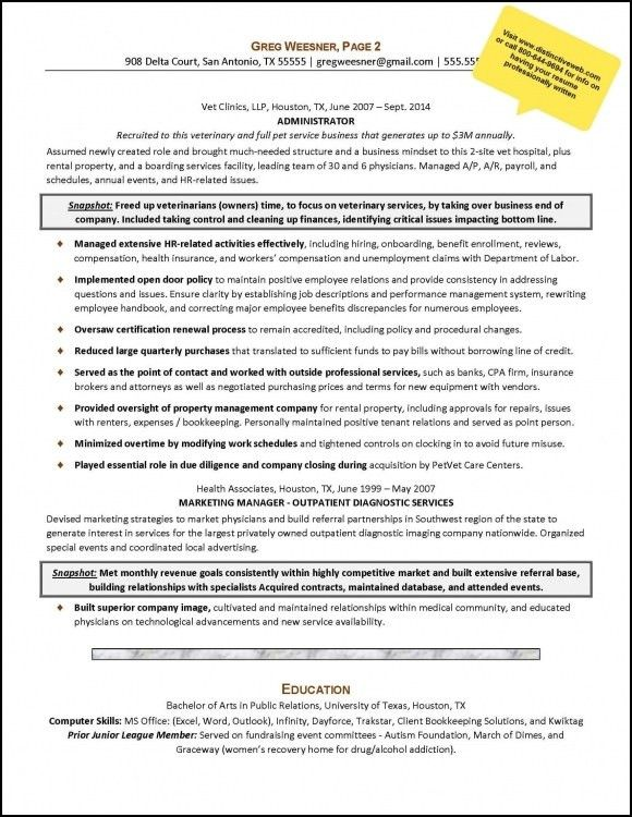 resumes and cover letter cover letter example executive or ceo ...