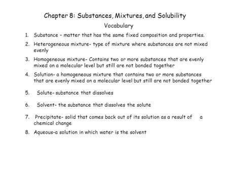 Pure Substances and Mixtures. Look at the big picture… u Pick out ...
