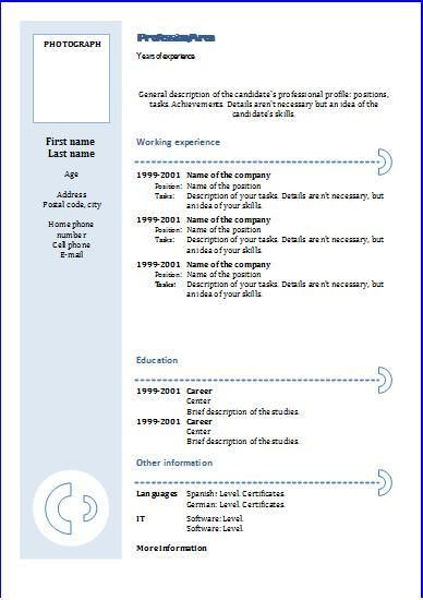 google resume templates google cv cover note templates use - Google Resume Templates Free