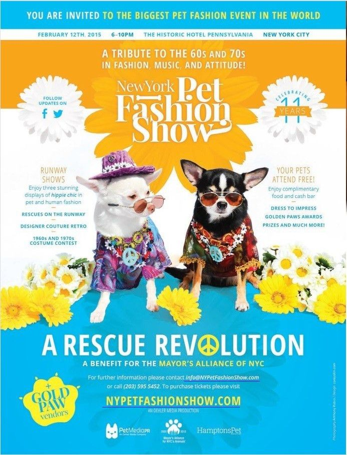 The 2015 New York Pet Fashion Show | Anthony Rubio Designs - Dog ...