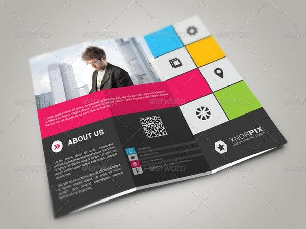 30+ Best Printable Trifold Brochure Templates PSD, Vector