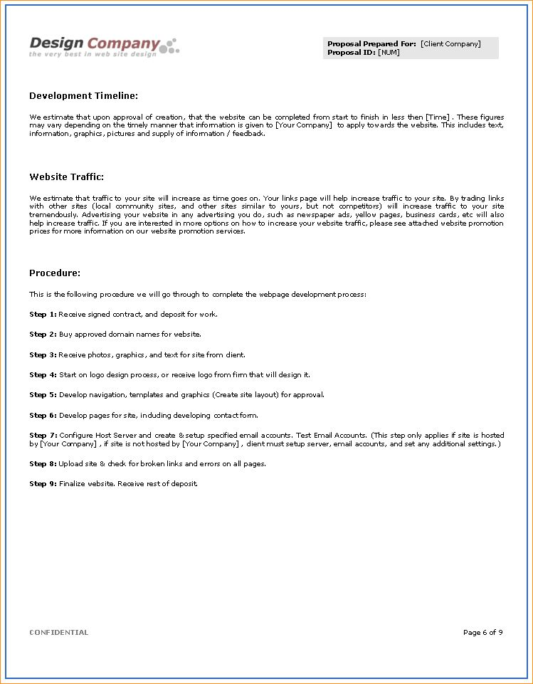 Job proposal template - Business Proposal Templated - Business ...