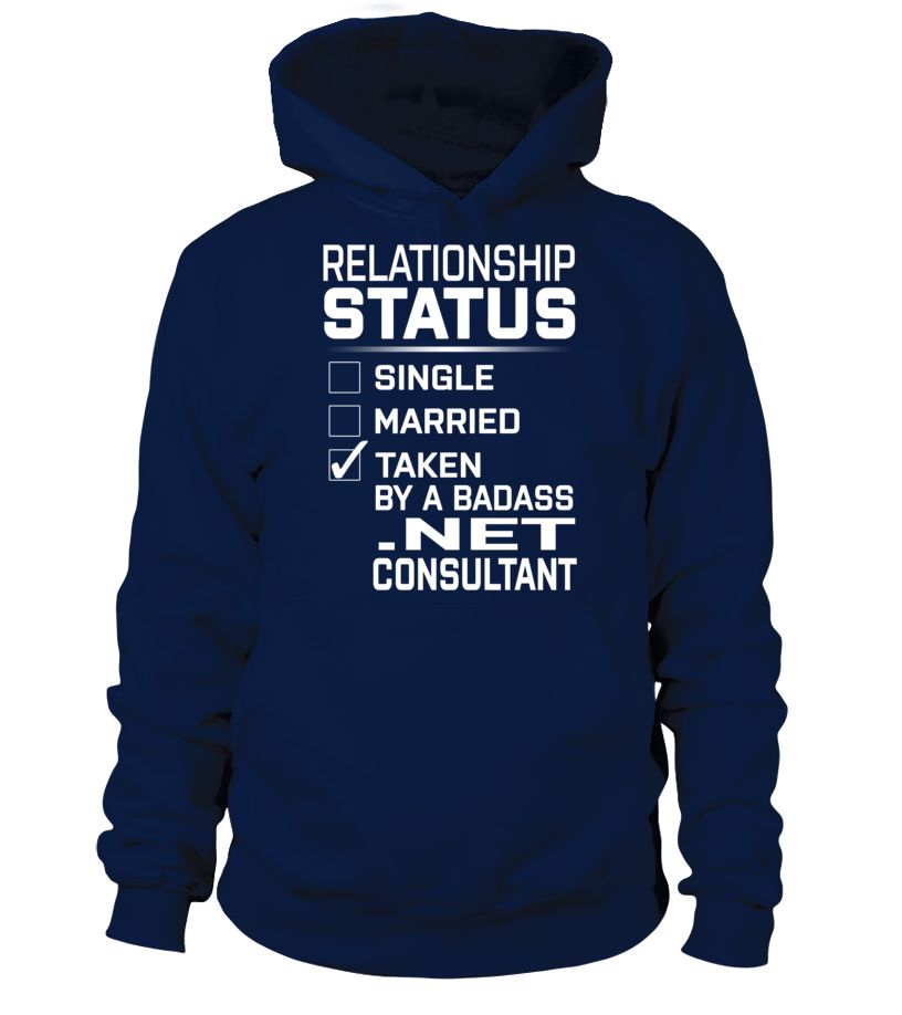 Net Consultant - Relationship Status | azzshirt