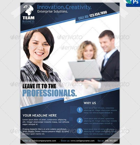 business flyer template psd free download besttemplate123 2kr2lln6 ...