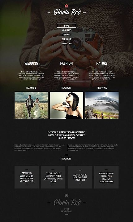 119 best HTML Web Templates images on Pinterest | Html templates ...