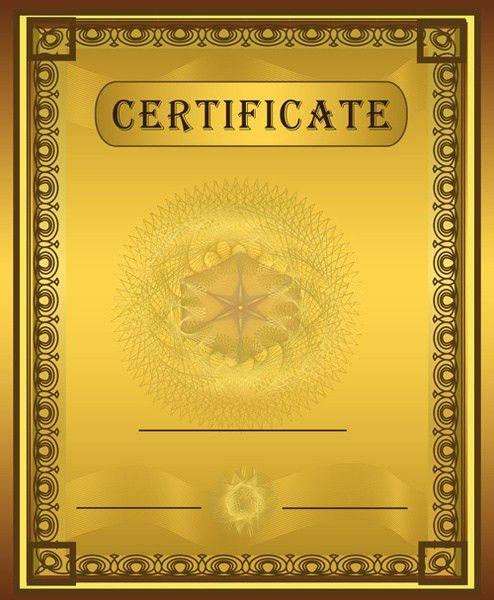 Vector template coreldraw certificate free vector download (15,778 ...