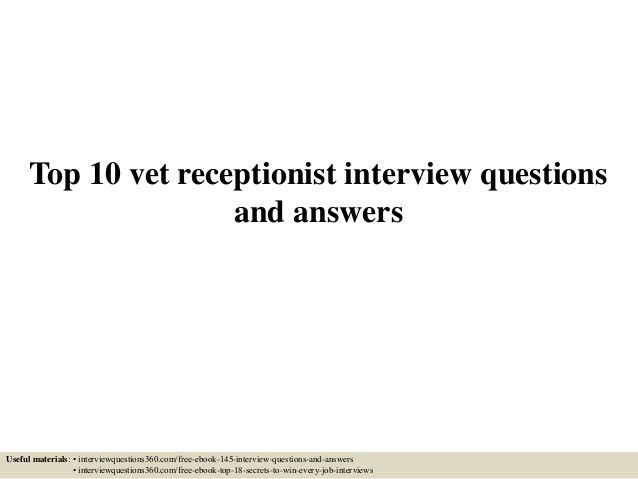 veterinary receptionist sample resume customer service agent ...