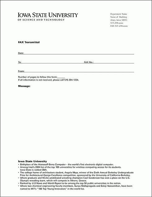 Fax - Brand Standards