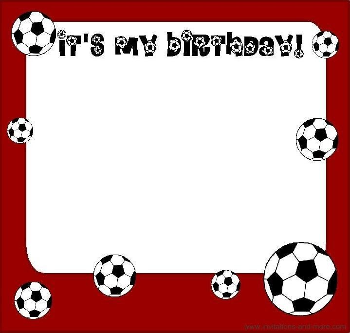 Birthday Invitation Free Soccer – orderecigsjuice.info