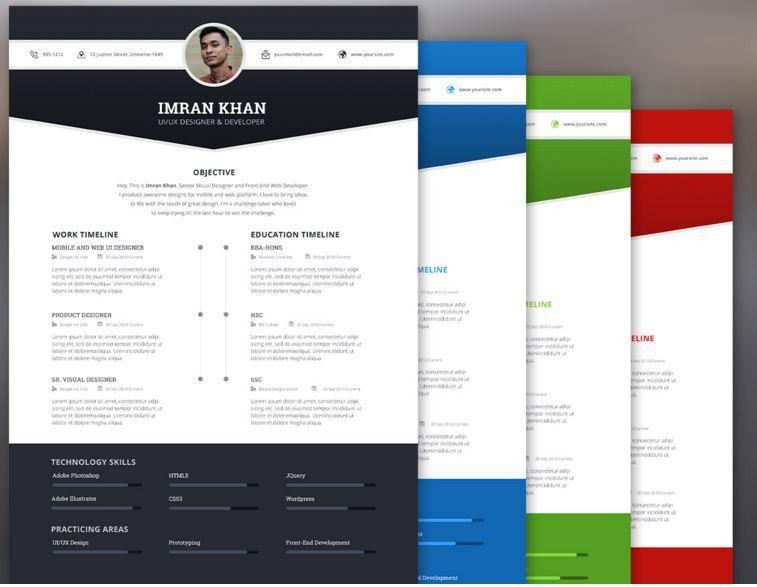 20 Free Creative Resume Templates to consider - 85ideas.com