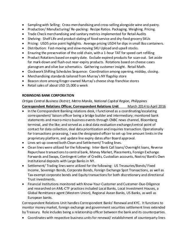 Resume of Veronica Francisco - July 2016 - PDF