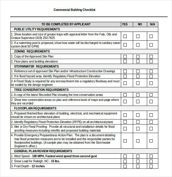 17+ Checklist Templates - Free Sample, Example, Format | Free ...