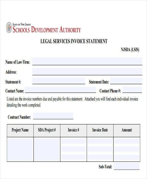 44+ Blank Invoice Samples
