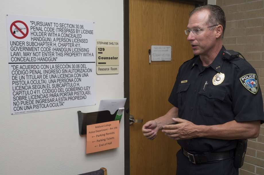 Concealed carry law goes into effect at MC - Midland Reporter-Telegram