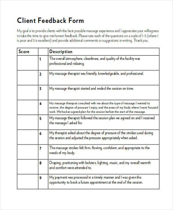 360 Degree Feedback Form. Download Employee Evaluation Form ...