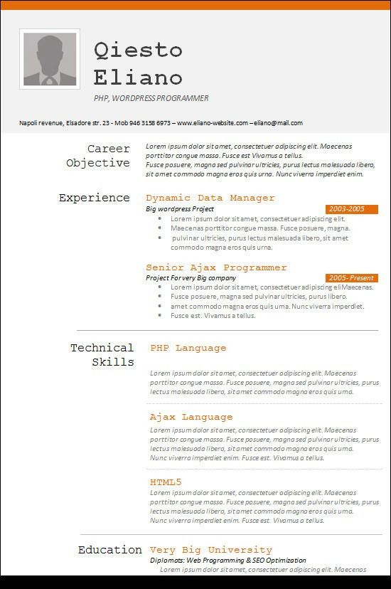 click here to download this entry level programmer resume template ...