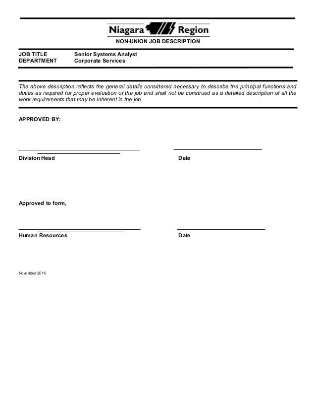 System Analyst Job Descriptions. Operations Analyst Cover Letter ...