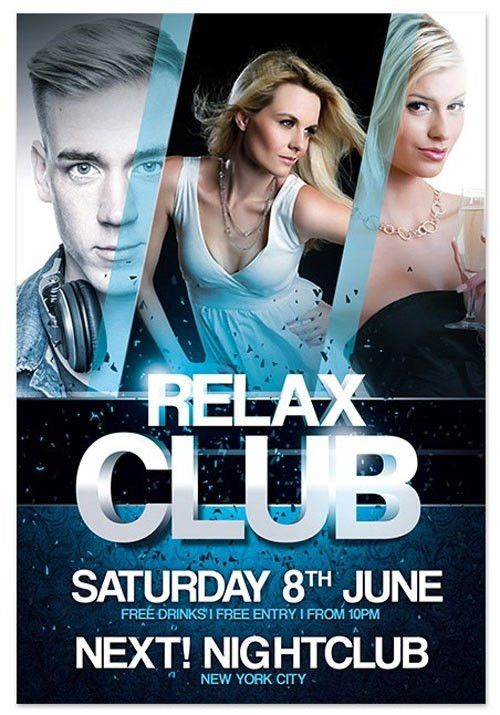 18 Free Photoshop PSD Club Party Poster and Flyer Templates ...