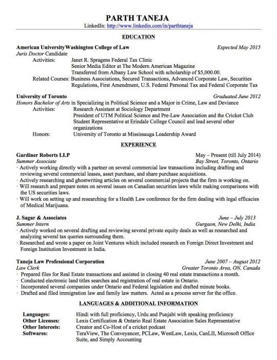 The Most Awesome Sample Associate Attorney Resume | Resume Format Web