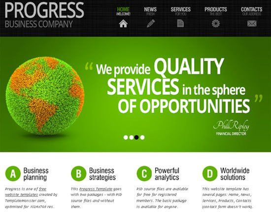 HTML5 Free and Premium Website Templates - Perfect Designing Developer