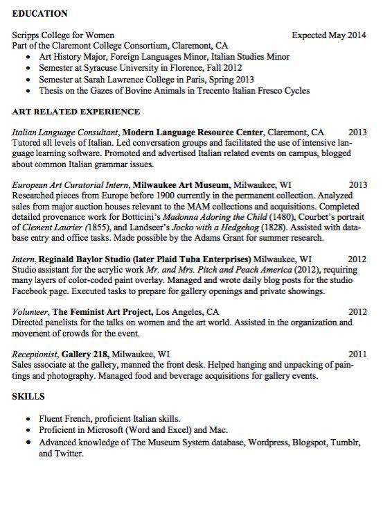37 best ZM Sample Resumes images on Pinterest | Sample resume ...