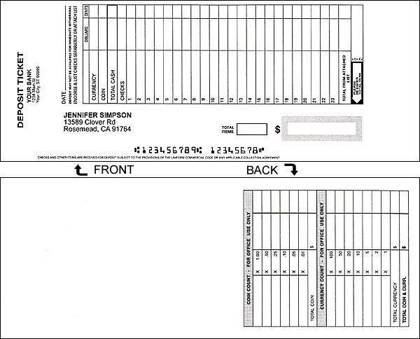 Order Deposit Slips   Free Shipping   Checkworks.com