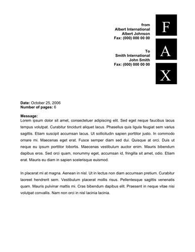 Printable Fax Cover Sheet Templates Free Fax Cover samples in Word ...