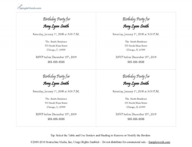 Party invitations – Page 2 – frenchkitten.net