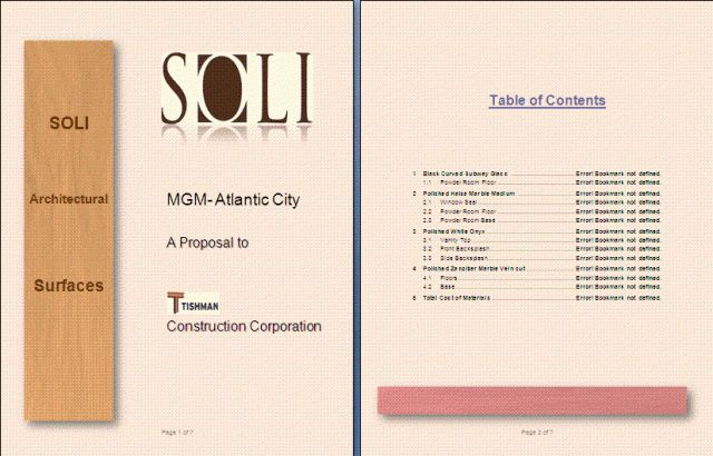 Construction Project Proposal Template | Free Proposal Templates