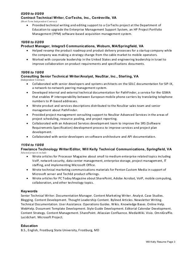 Technical Writer and Content Creator [Northern Virginia or Remote]